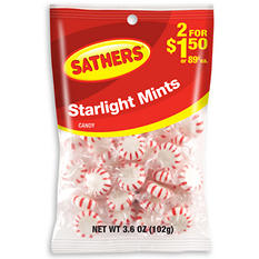 Sathers Starlight Mints (3.6 oz. bag, 12 ct.)