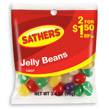 Sathers Jelly Beans (3.4 oz. bag, 12 ct.)
