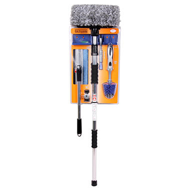 Hayco Car Cleaning Brush Set - 7 pc.