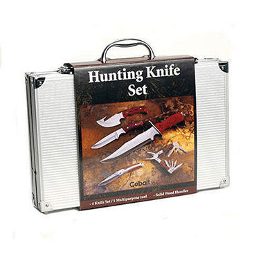 Cobalt Hunting Knife Set - 5pc