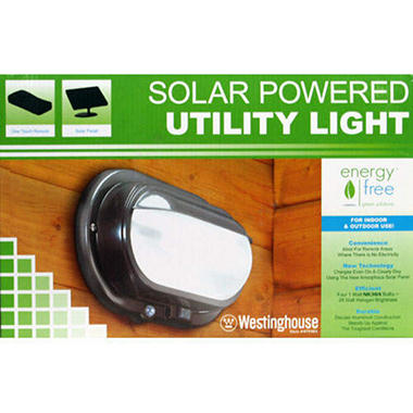 Westinghouse Solar Powered Utility Light