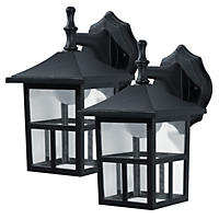 Honeywell Outdoor LED Wall-Mount Lantern (2 pack)