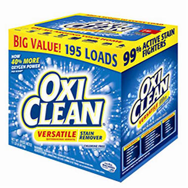 OxiClean Versatile Stain Remover - 195 Loads - 11 lbs.