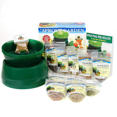 Handy Pantry Beginner?s Sprouting Kit