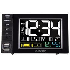 La Crosse Alarm Clock Charging Station with 2 USB Ports