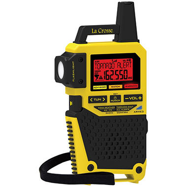 La Crosse NOAA Weather Radio with Tornado Alert