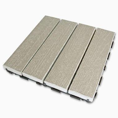 LifeCycle/EcoDek Floor Tile - Gray - 10 pk.