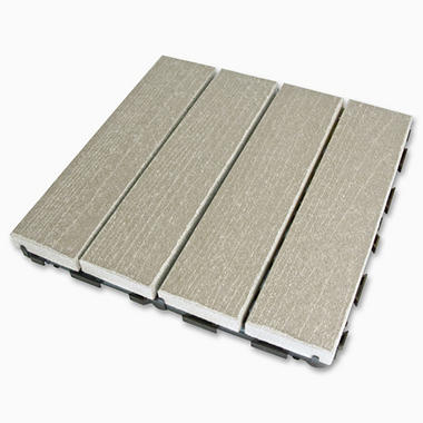 LifeCycle/EcoDek Floor Tile - Gray - 10 pk.