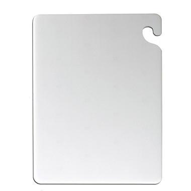San Jamar Cut-N-Carry Cutting Board with Hook - 12