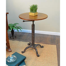 Colton Adjustable Vintage Table