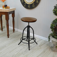 Kensington Adjustable-Height Bar Stool