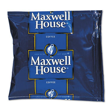 Maxwell House - Regular Roast Ground Coffee Packets, 1.5 oz - 42 Packets