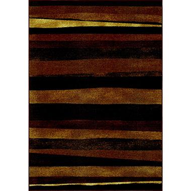 Hudson Striped Area Rug - 8'2