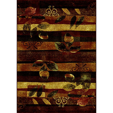 Season Falling Leaves Area Rug - 4'11
