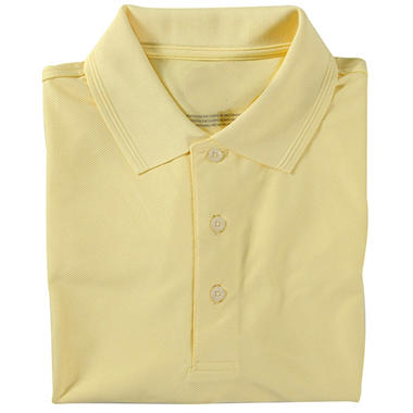 Designer Performance Golf Polo - Yellow