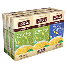 Back to Nature Organic Macaroni and Cheese (6 oz. pks., 9 ct.)