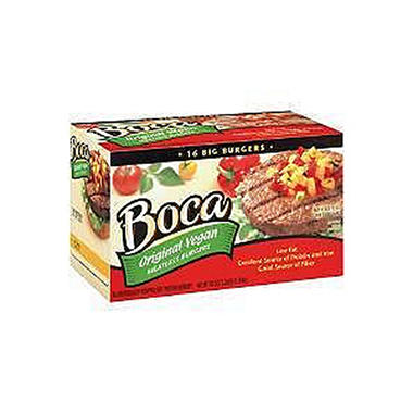 Boca� Meatless Burgers Original Vegan - 16 ct.