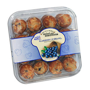 Uncle Wally's Rich & Moist Blueberry Muffins - 32 ct.