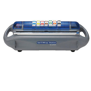 San Jamar Saf-T-Wrap All-In-One Food Wrapping and Labeling System Station