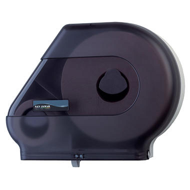 San Jamar Toilet Paper Dispenser with Stub Roll Compartment