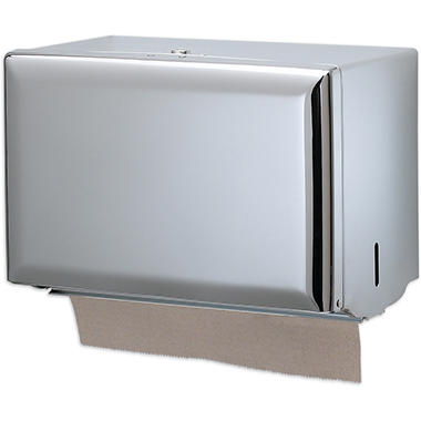 San Jamar Singlefold Chrome Towel Dispenser