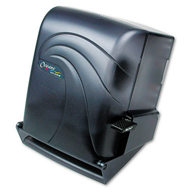 Oceans Lever Roll Towel Dispenser Auto Transfer, 8 in., Translucent Black