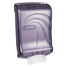 San Jamar Oceans Slimmer C-Fold or Multifold Towel Dispenser