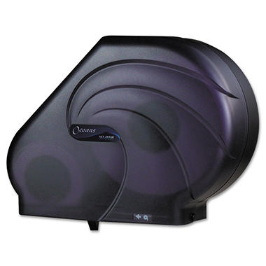 Oceans Toilet Paper Dispenser with Stub Roll Compartment