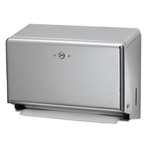 San Jamar Mini C-Fold & Multifold Paper Towel Dispenser