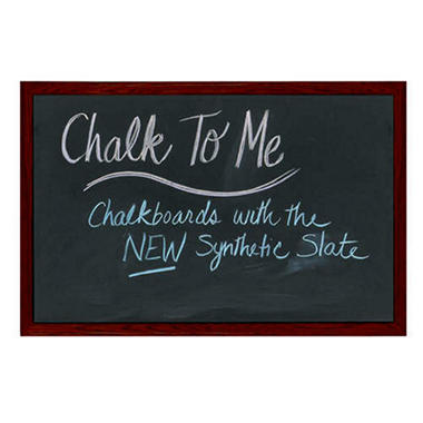 Framed Chalkboard - Cherry