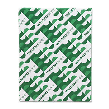 Wausau - Exact Eco 100 Multipurpose Paper, 20lb, 92 Bright, 8-1/2 x 11