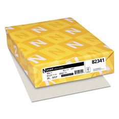 Wausau - Exact Vellum Bristol Card Stock, 67lb, Gray - 250 Sheets