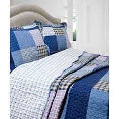 Vintage Classics Collection Mulberry Quilt Set - Various Sizes