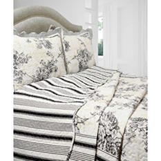 Vintage Classics Collection Emory Quilt Set - Various Sizes