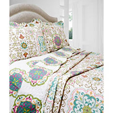 Vintage Classics Collection Candella Quilt Set - Various Sizes