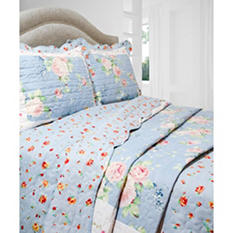 Vintage Classics Collection Blue Ridge Quilt Sets - Various Sizes