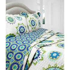 Vintage Classics Collection Nicole Quilt Set - Various Sizes
