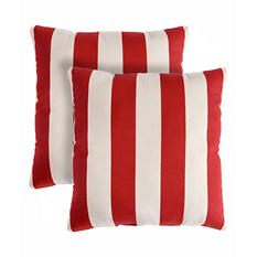 Regal Stripe Decorative Pillows, Set of 2