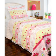 Vintage Classics Collection Daisy Mae Kid's Quilt Set - Various Sizes