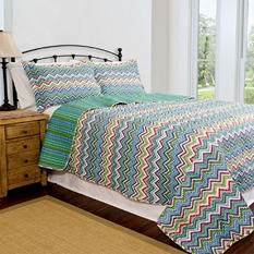Home ID Collection Zanadu Quilt Sets - Various Sizes