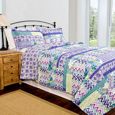 Home ID Collection Melrose Quilt Set - Various Sizes