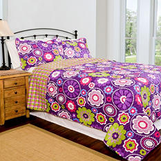 Home ID Collection Karlie Quilt Set - Various Sizes