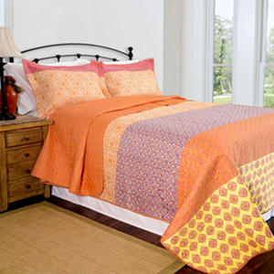 Home ID Collection Escapade Quilt Set - Various Sizes