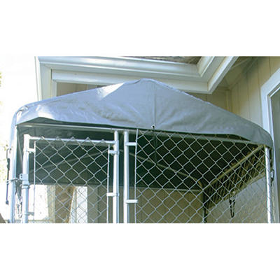 Lucky Dog Weatherguard Kennel Cover - 5'L x 5'W