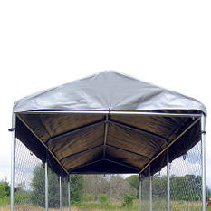 Lucky Dog Weatherguard Kennel Cover - 10'L x 5'W