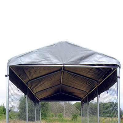 Lucky Dog Weatherguard Kennel Cover - 15'L x 5'W