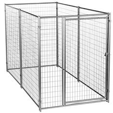 Lucky Dog Modular Welded Wire Kennel Kit - 10'L x 5'W x 6'H