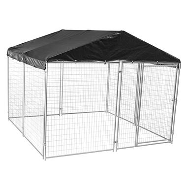 lucky dog kennel assembly instructions