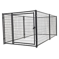 Lucky Dog Modual Kennel Welded Wire Kit - 10'L x 5'W x 4'H