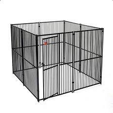 Lucky Dog European Style Kennel - 10'L x 10'W x 6'H